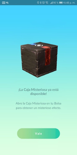 caja misteriosa melta- pokemon go