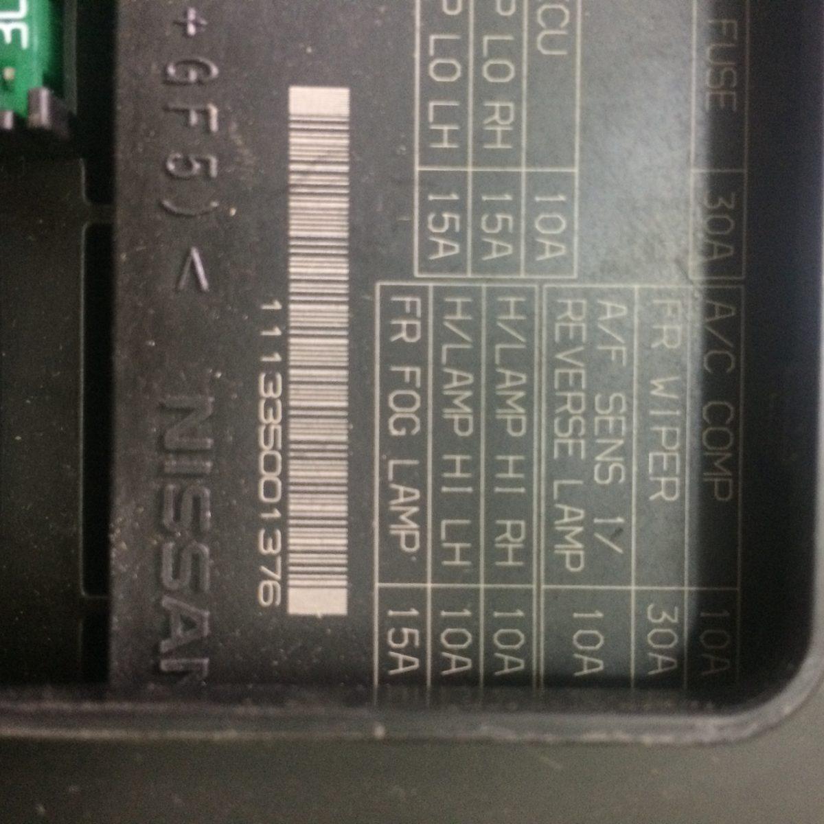 Caja Modulo De Fusibles Nissan Rogue Sentra Nuevo ...
