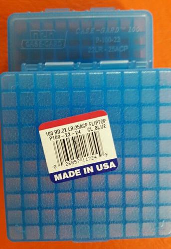 caja mtm para .22 lr y 6.35.- por 100 unidades americana