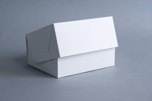 caja multiuso mediana 20x15x9 cm (x 50 u.) porciones individuales lunch - bauletto