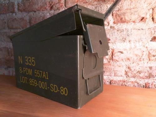 caja municiones metalica hermetica botiquin [bror]