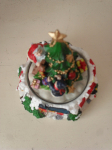 caja musica arbol de navidad papa noel merry christmas gabym