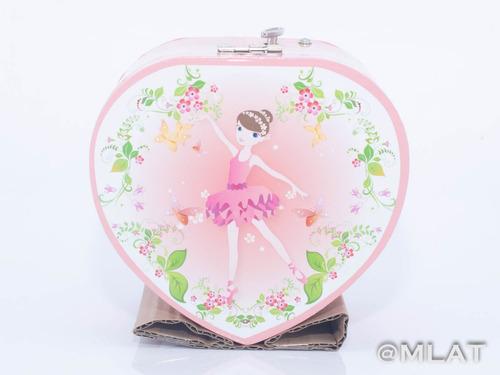 caja musical alhajero corazón  reina ideal regalo!