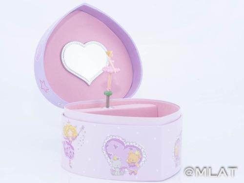 caja musical alhajero corazón reina princesa ideal regalo!