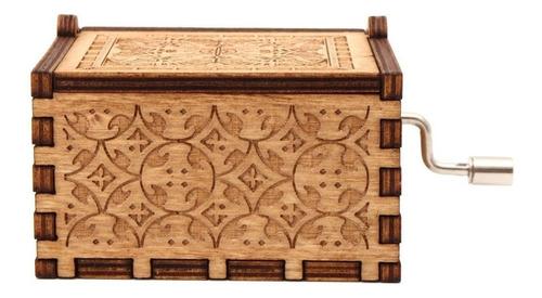 caja musical - amelie madera regalo pelicula yann tiersen