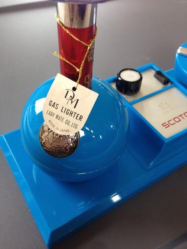caja musical dandy mate japón 1950/60s encendedor vintage