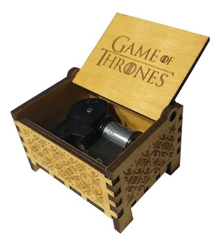 caja musical de cuerda game of thrones intro juego tronos