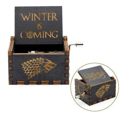 caja musical game of thrones juego de tronos  got original