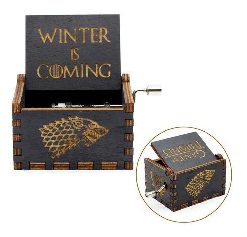 caja musical games of thrones harry potter star wars queen