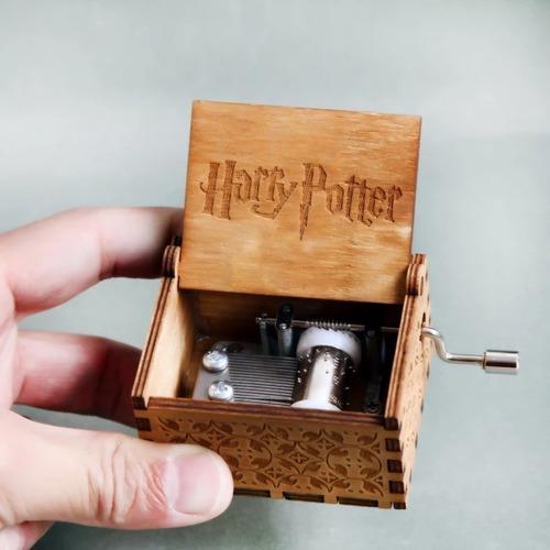 caja musical harry potter, got, star wars,dbz y más