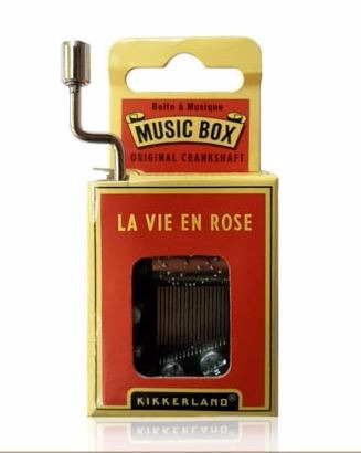caja musical la vie en rose kikkerland * envío gratis