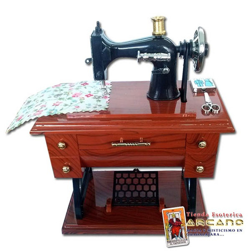 caja musical - maquina de coser