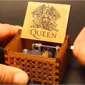Caja Musical Queen, Funcional, Exclusiva