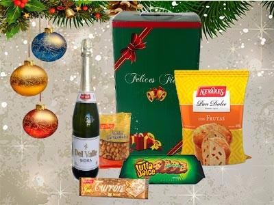 caja navideña 2017  nº 3 (9 productos)
