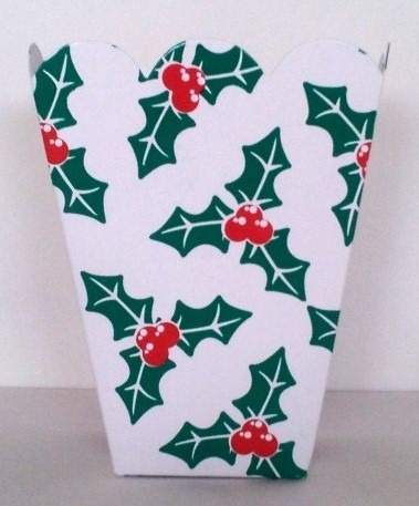 caja navidena para candy bar y mas !!! maa