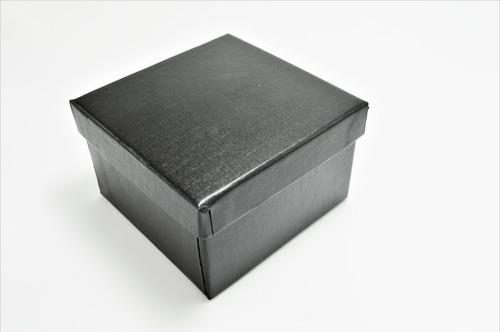 caja negra para pulsera, brazalete, para regalo,guardarla