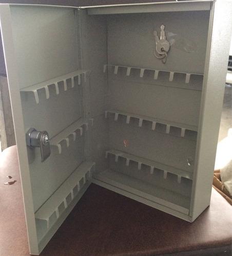 caja o gabinete de llaves con cerradura 46 llaves