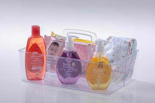caja organizador multiuso baño cosmeticos - garageimpo