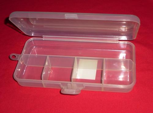 caja organizador pequeño de plástico 5 divisiones taiwan