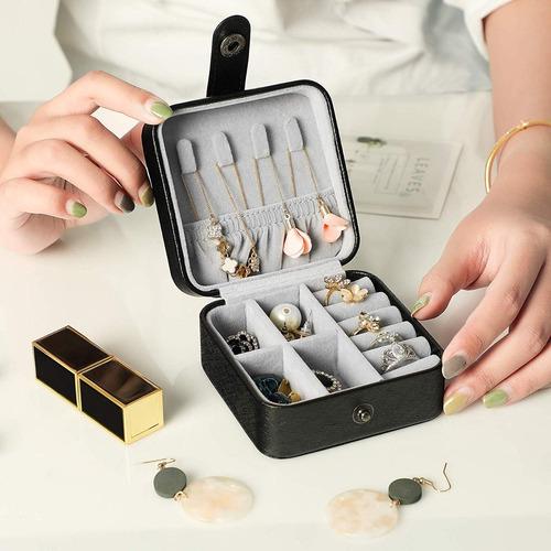 caja organizador reloj anillos joyas lujo