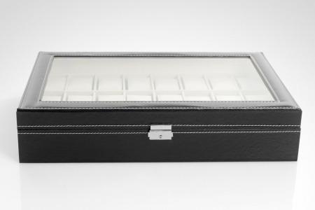 caja organizador relojes 24 unidades / asia import trading
