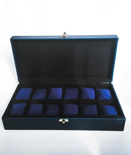 caja organizadora 12 relojes regalos navidad