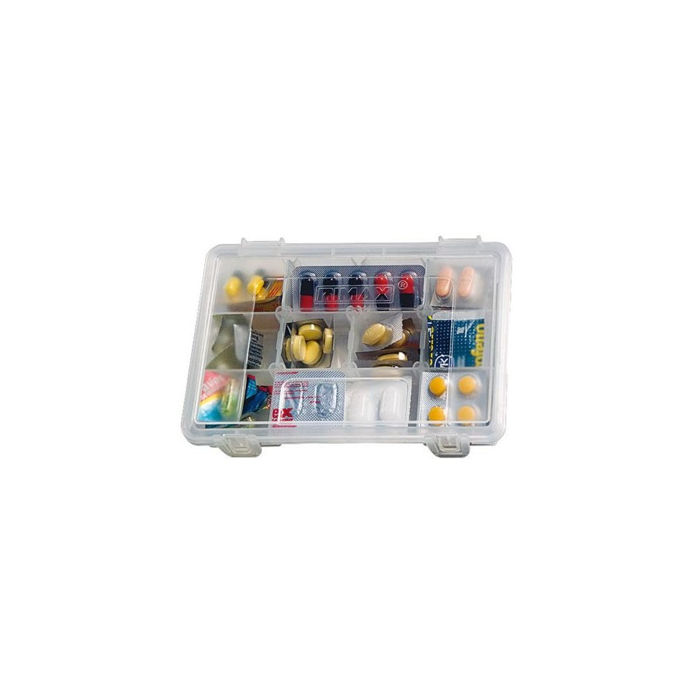 Caja Organizadora 180 Rimax 5515 Transparente 6 920 En  # Muebles Rimax Bucaramanga