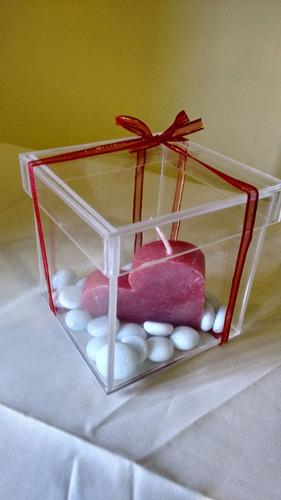 caja organizadora 20x20x20 con tapa boda,cumple,eventos