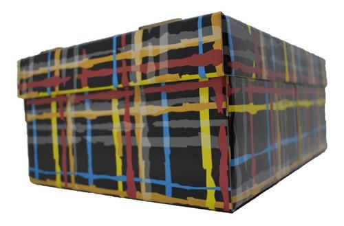 caja organizadora de carton plastificada chico 31x22x13cm