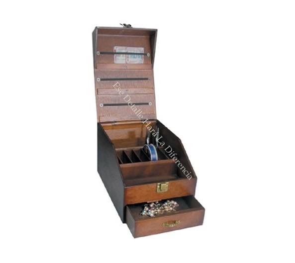 Caja organizadora de madera para herramientas de joyer a - Herramientas de madera ...