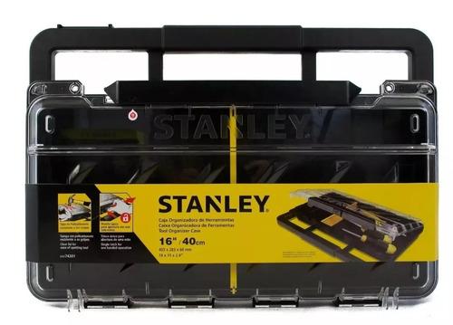 caja organizadora de policarbonato stanley stst74301-840