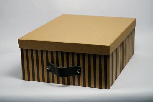 caja organizadora decorativa - 45x35x16 - almacén de estilo