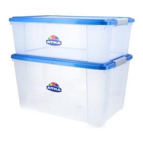 Caja Organizadora Plástica Praga 68 Lts