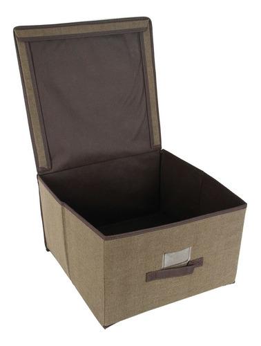 caja organizadora simplify 25422-café