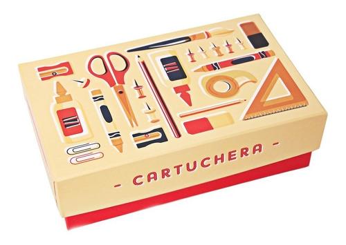caja organizadora temática cartuchera