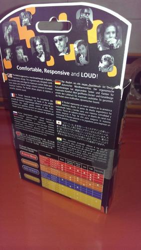 caja original de armonica hohner rocket (f) fa