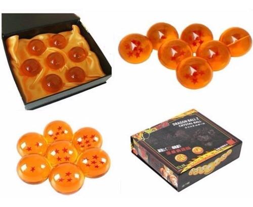 caja original kit 7 esferas de dragon ball z 100%garantizado