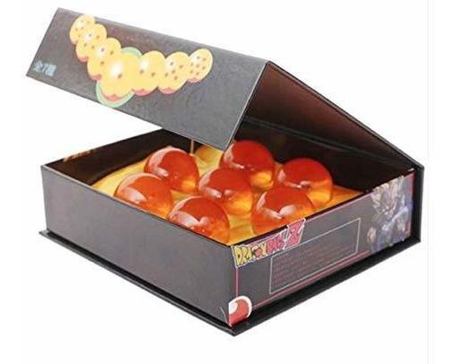 caja original kit 7 esferas de dragón ball z