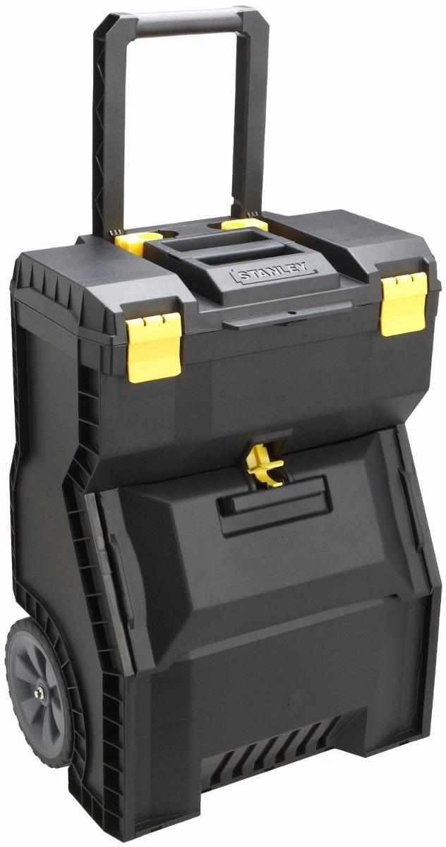 Caja p herramientas movil c llantas stanley de19 - Caja de herramientas stanley ...