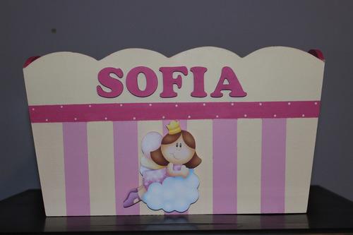 caja pañalera portacosmetico bebes baby shower bienvenida