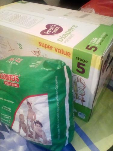 caja pañales desechables parent's choice imp talla 5