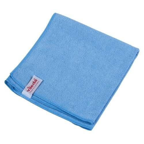 caja paño franela microfibra swift azul vileda professional