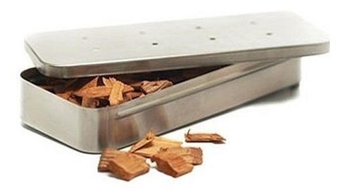 caja para ahumado en acero inoxidable grillpro