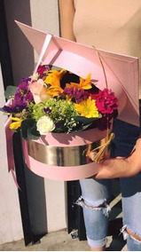 Caja Para Arreglo Floral