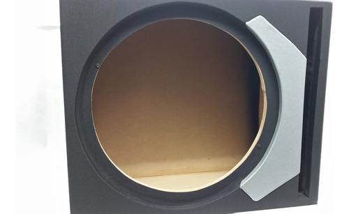caja para bajo 12  pulgadas mdf cubicada