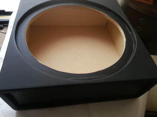 caja para bajo plano12   pulgadas mdf cubicada