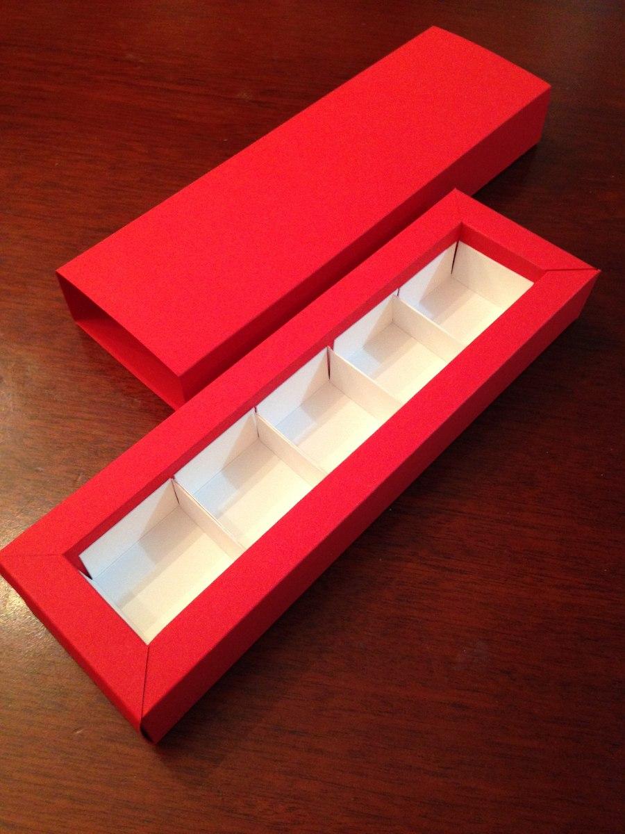 Caja para bombones 5 espacios bs 500 00 en mercado libre for Cuanto sale hacer una pileta de material 2016