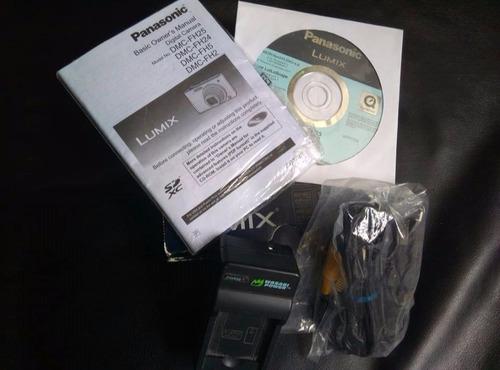 caja para cámara panasonic fh25!!!! con accesorios!!!!!