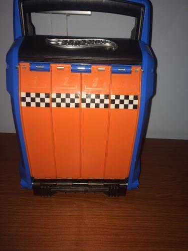 caja para carros hot wheels, juguete de niños