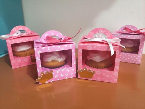 caja para cupcake